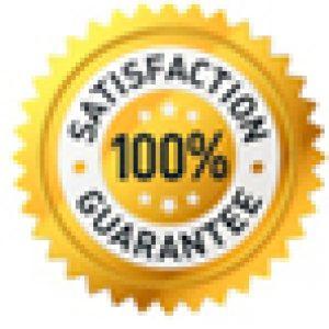 footer satisfaction guarantee logo